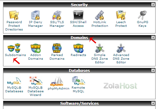 How To Create A Sub Domain In cPanel?